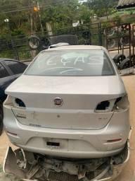 Fiat siena 1.4 ano 2013 sucata somente peças