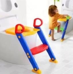 Assento Redutor Para Vaso Sanitario Infantil Com Escada Troninho Com Escadinha