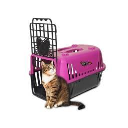 Caixa De Transporte Cães e Gatos Porta Guilhotina