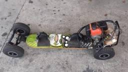 Skate gasolina, 50 cc, 2 tempo, Usada