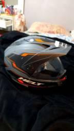 Capacete Helton Cross Vision Triller Orange