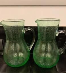 Duas Jarras de vidros de 2,5 L