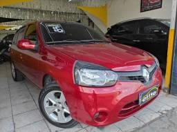 Renault Clio Expression 1.0 Flex Completo Financia e Troca
