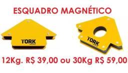 Esquadro Magnético 12Kg. ou 30Kg. Leia o Anúncio *