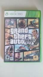Jogo Gta V 5 Xbox 360 Mídia Física
