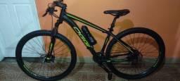 Bicicleta top toda Revisada peça Nova troco por uma speed