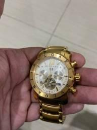 Relógio BVLGARI banhado ouro 18k