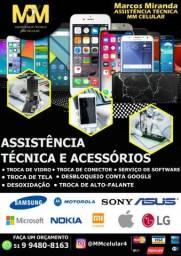 Conserto de celulares android/ios e tablets