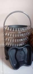 Carrinho de esmalte usado