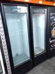 Expositor de bebidas 454L pronta entrega - super economica
