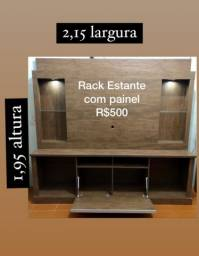 Rack estante com Painel