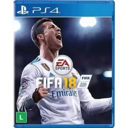Jogo Fifa 18 PS4.
