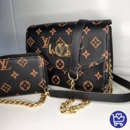 Bolsa Feminina Louis Vuitton com carteira