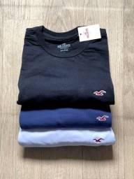 Título do anúncio: Camiseta Hollister importada básica
