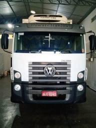Caminhão Baú Refrigerado 24.280 Vw.