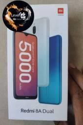 O melhor de 2021! REDMI 8A 64 GB da Xiaomi. NOVO lacrado Garantia e entrega