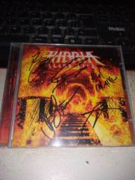 Cd Hibria - Blind Ride (autografado).