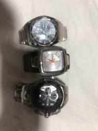 Relógios Orient e Diesel