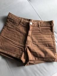 Short cintura alta usado 2 vezes