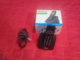 Telefone sem fio na caixa