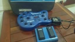 V-Amp para guitarra 250 reais completo, WhatsApp 9-8982-0976