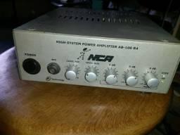 Amplificador+caixa acústica staner sr