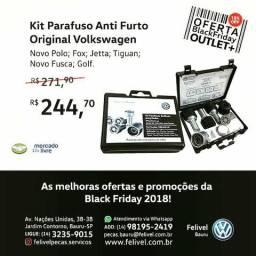 Kit Parafuso Anti Furto Original VW Polo Jetta Fox Tiguan