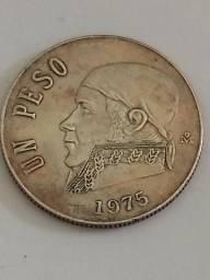 Moeda un peso México 1975