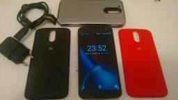 "Moto G4 Plus 32Gb 5.5"" Pol Biometria Dual chip Desbloqueado"