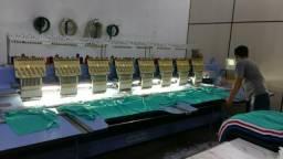 Vendo maquina de bordados 8 cabeças