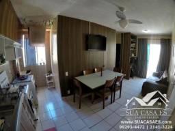 Apartamento à venda com 2 dormitórios em Praia da baleia, Serra cod:AP138LE