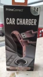 Carregador - Adaptador para carro