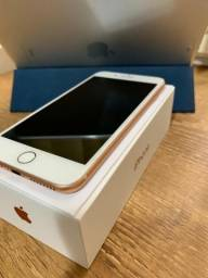 IPhone 8 Plus 64gb - Rose - Muito novo!!!