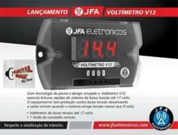 CS-Canal Som Instalação Grátis, Voltímetro Jfa V12 Sequenciador, Lindo! 59,99 ou 12x 6,00