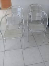 GRANDE OFERTA: Cadeiras de de alumínio