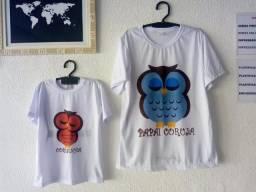 Camisas mãe e filho / pai e filho