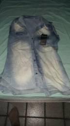 Camiseta Jeans nova com etiqueta