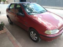 Palio Fiat 1997 vermelho 4 portas vidro elétrico