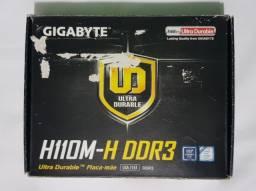 Placa Mãe Gigabyte GA-H110M-H DDR3 LGA 1151