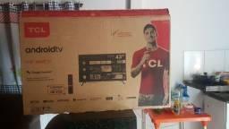 Smart tv 43polegadas TCL troco em iphone ou ps4
