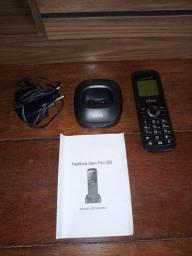 Telefone residencial (fixo) sem fio vivo de chip