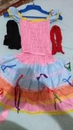 Vestido caipira tamanho G