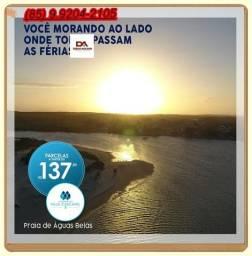 R$ 137,00 Lotes para seu lazer construa aqui sua casa de Praia
