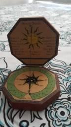 Bússola Decision relíquia raridade linda zerada