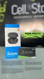 Redmi airdots da Xiaomi original (fazemos entrega grátis)!!