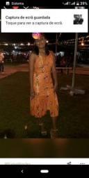 Vestido florido usado
