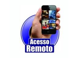 Dvr hdl 4 canais AHD com acesso remoto