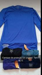 Camisa de proteção UV