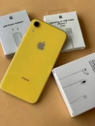 IPhone XR 64GB Amarelo - lindo - novissimo - completo