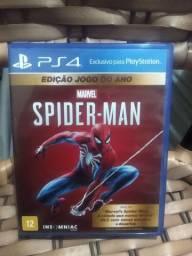 Jogo homen aranha novo um mês de uso